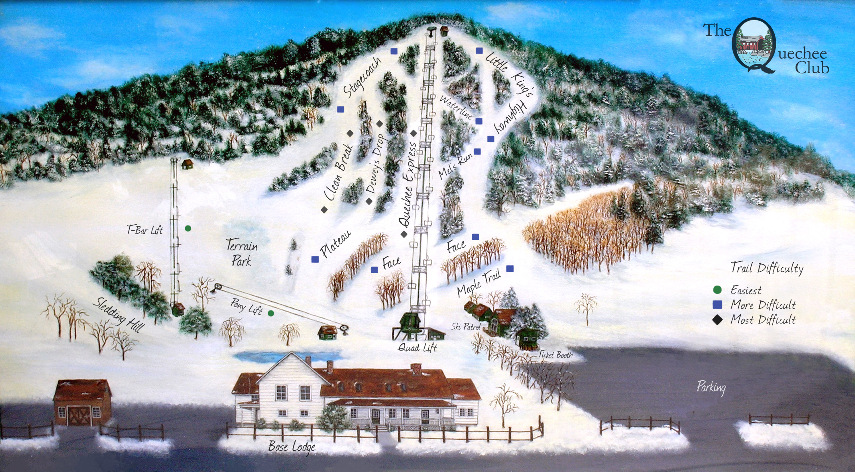Ski Report, Ski Weather, Snow Conditions Worldwide - The Quechee Club