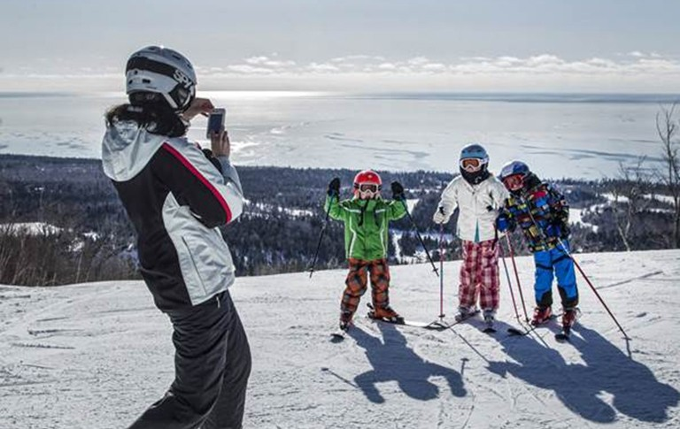 Lutsen Mountains is made for spring skiing and families. (Lutsen Mountains/Facebook)