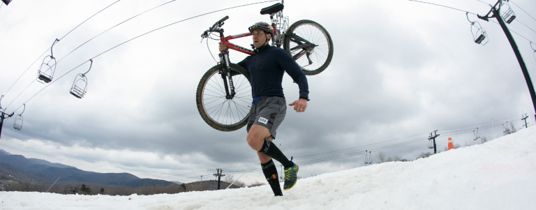 The Killington Triathlon tests your ski, bike and run speed, all in one day. (Killington)